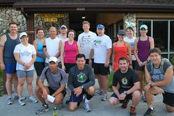 Run Tampa Group Run at Flatwoods in April 2011